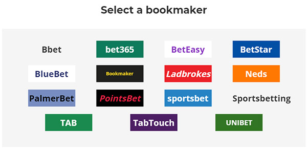 Bet Finder - Select Your Bookmaker